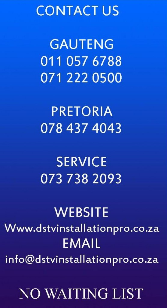 Dstv Installation Pro Dstv Installation Accredited